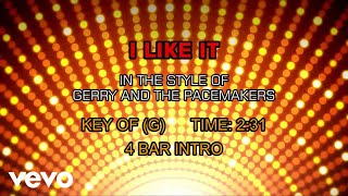 Gerry And The Pacemakers - I Like It (Karaoke)