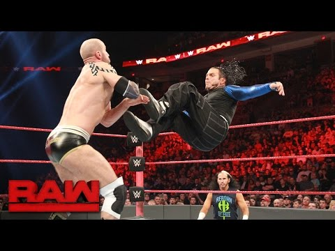 Jeff Hardy vs. Cesaro: Raw, April 17, 2017