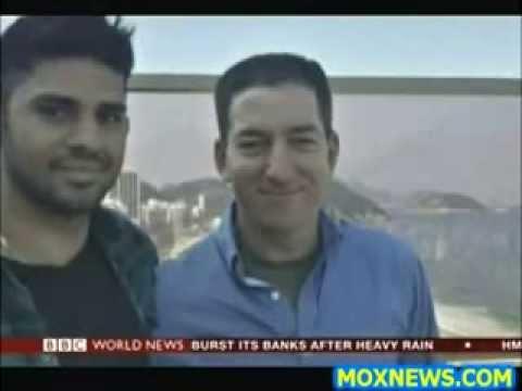 BBC NEWS** Glenn Greenwald's Partner DETAINED under TERROR LAW in London over SNOWDEN leaks