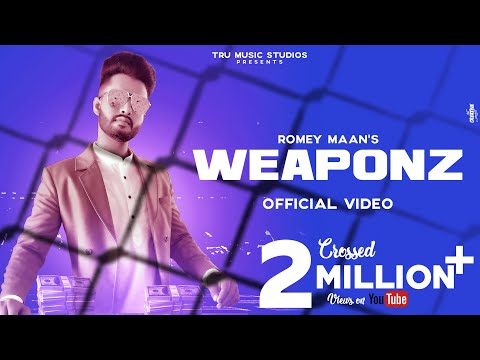 Weapon (Official Video) : Romey Maan | Latest Punjabi Songs 2019 | New Punjabi Songs 2019