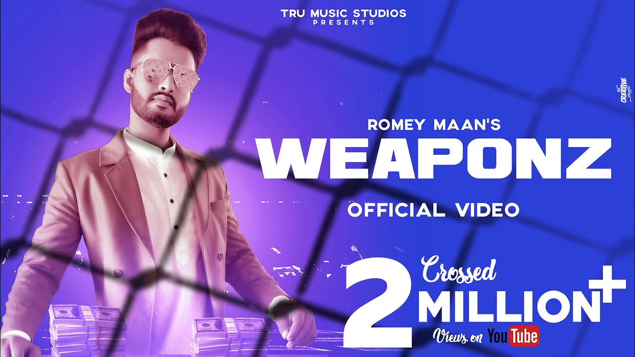 Download Weaponz (Official Video) : Romey Maan | Latest Punjabi Songs 2019 | Weapons nu nal rakhda | Weapon |