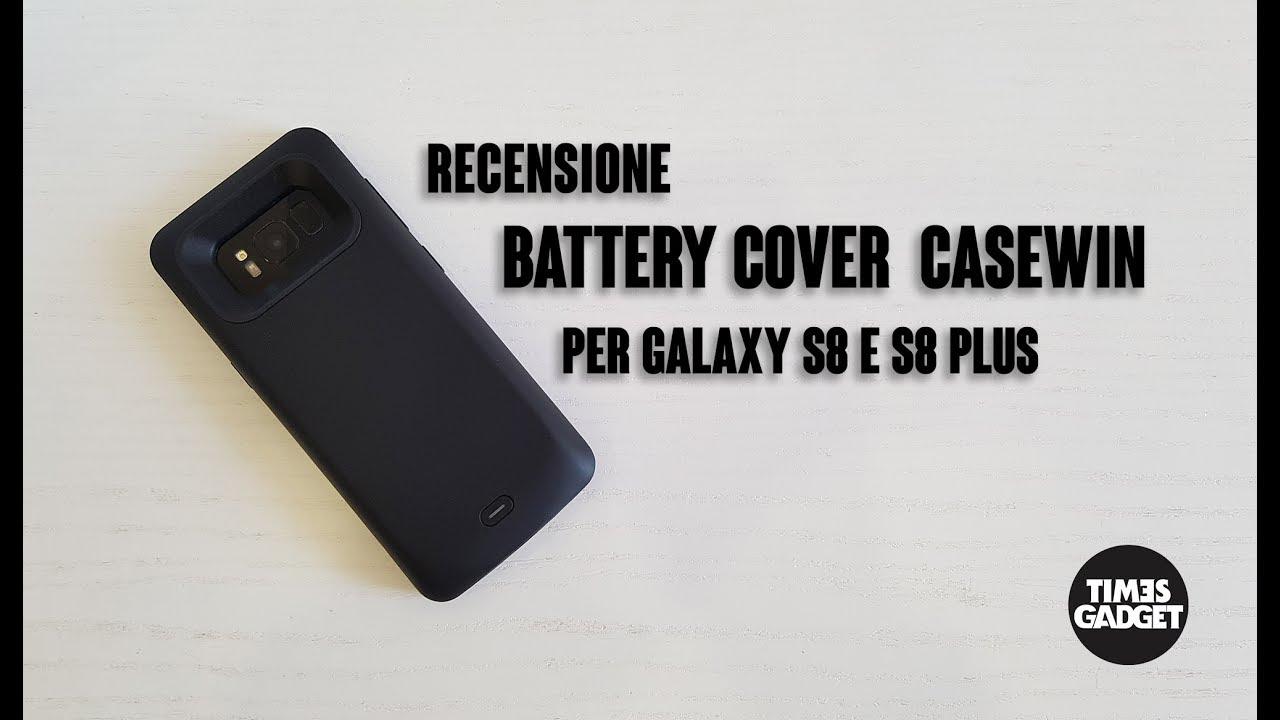 samsung s8 plus custodia batteria