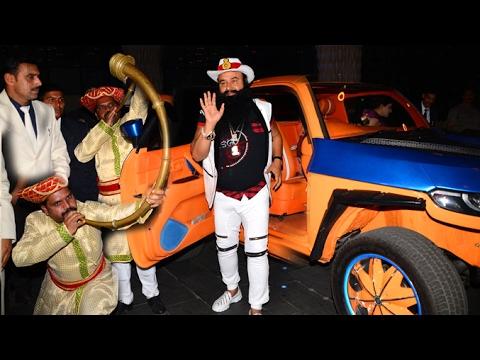 Dr. Gurmeet Ram Rahim Singh Grand Entry At MSG Hind Ke Napak Ko Jawab Movie Premiere