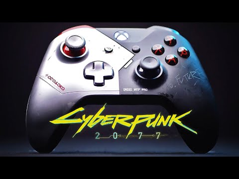 Cyberpunk 2077: Limited Edition Xbox Wireless Controller - Official Trailer
