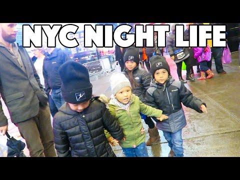 NYC NIGHT LIFE!! (12.17.15 - DAY 731) DAILY VLOG