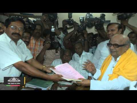 DMK Re elects M Karunanidhi as Party Chief - TOI