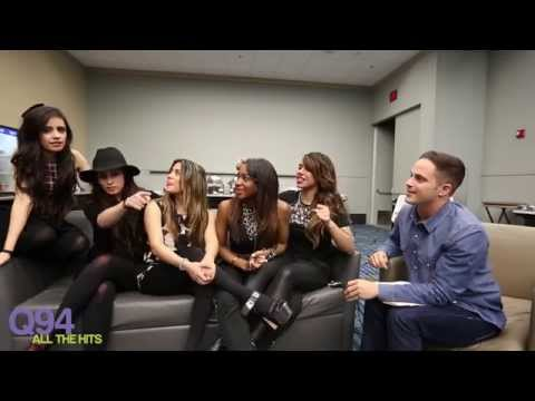 Fifth Harmony Hanging With Q94 's Jackson