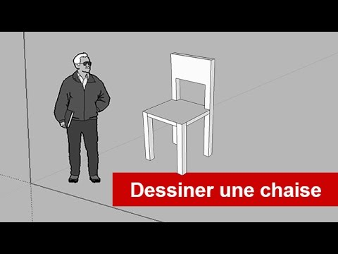 Sketchuppro dessiner une chaise youtube for Chaise youtubeur
