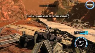 Red Faction: Armageddon - Path to War HD gameplay