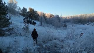 Offroad game Челябинск. Grand Cherokee взятие точки Т2 05.01.2018