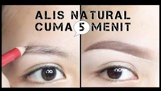 Alis Natural Mudah Cepat Cukup 3 Menit | Tutorial | Rangga Makeup