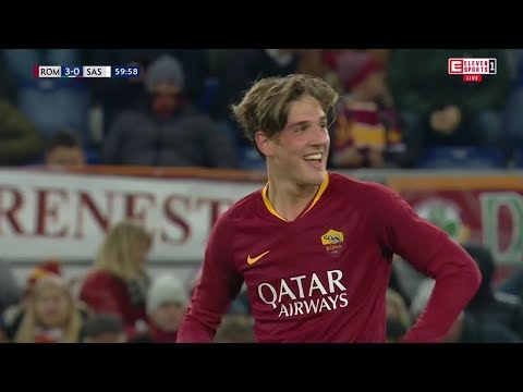 Nicolo Zaniolo Scores Filthy Goal vs Sassuolo • 2018/19