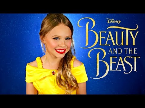 Disney Beauty and the Beast Belle Makeup and Costume