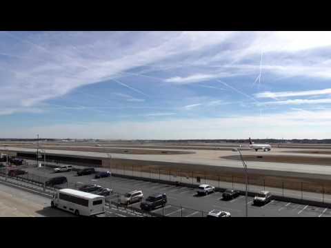 Atlanta Hartsfield-Jackson International airport timelapse. 4 hours. 2/4/2017