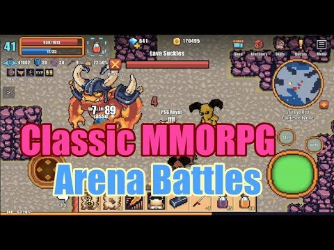 Classic Mobile MMORPG, Open World PvP MMORPG You Must Play In 2019! - Pixel Knights Online