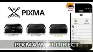 Pixma Wifi Direct on MG7700, MG6800, MG5700 series (30 seconds)