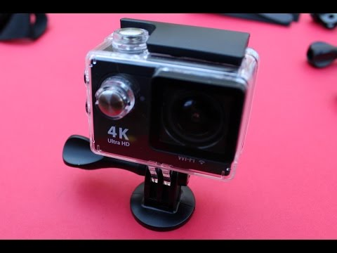 Review y test de la cámara H9 Ultra HD 4K Action cam Wifi de menos de 37 euros