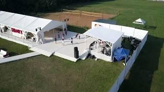 Загородный шатер у воды для свадьбы