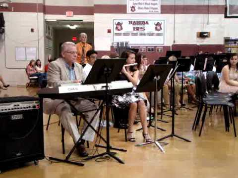 Rebecca Flute Solo with Hahira Middle School Band