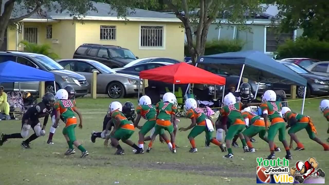 Miami Gardens Vikings Vs Ftl Hurricanes 105 10u Lb Youthfootballville Com Youtube