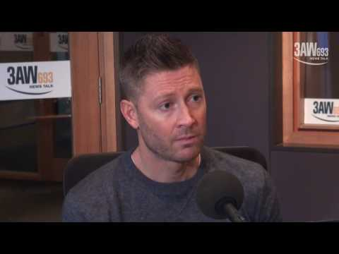 Michael Clarke tells Neil Mitchell about his fractured relationships from cricket