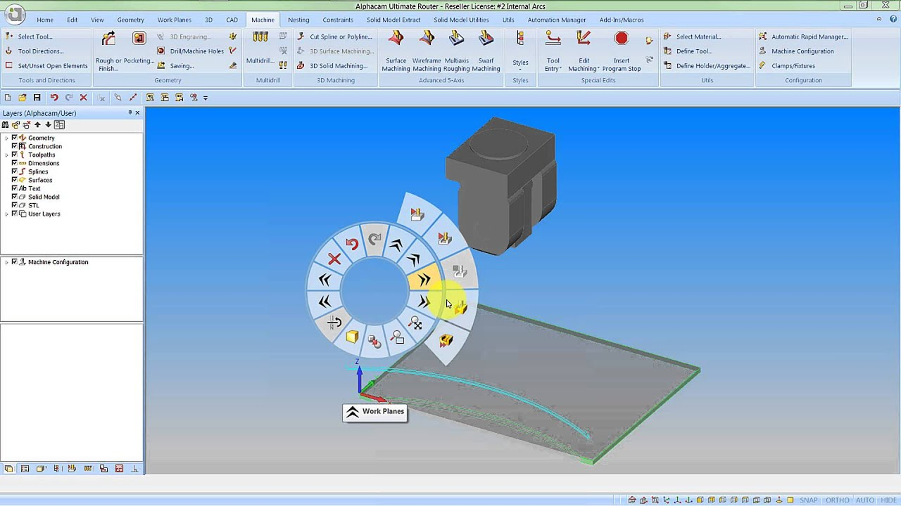 AlphaCAM The fully featured CAD/CAM solution compatible with any CNC machine