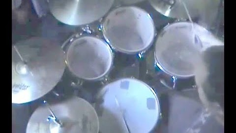 drum cover  etwaiting for the end michael henry  justin robinett cover