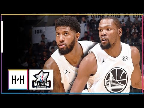 Kevin Durant & Paul George Full Highlights vs Team Curry at 2018 All Star Game!