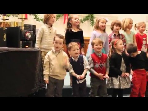 J-O-Y Song, Owen's Preschool Christmas Program 2015, First United Methodist Preschool