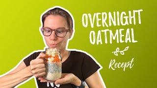 Overnight oatmeal - recept voor een snel ontbijtje