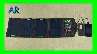 Портативний зарядний пристрій на сонячній батареї Allpowers 16 Вт 2xUSB