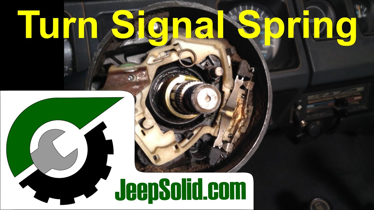 Turn Signal Spring Jeep Turn Signal Youtube