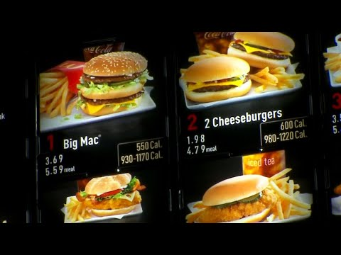 Do calorie counts on menus help people eat healthier?