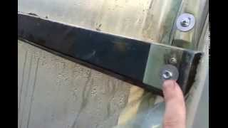 видео: как я крепил плёнку на теплице