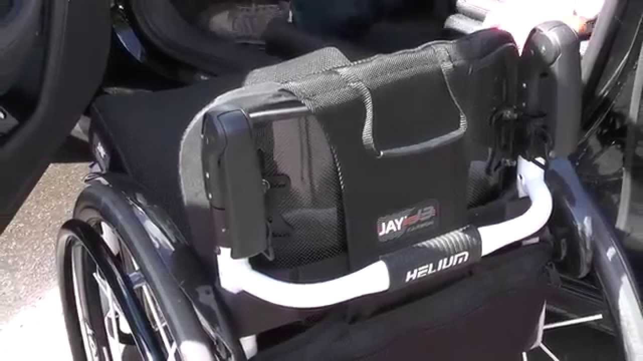 Jay J3 Carbon Wheelchair Back  Fixed Hardware  YouTube