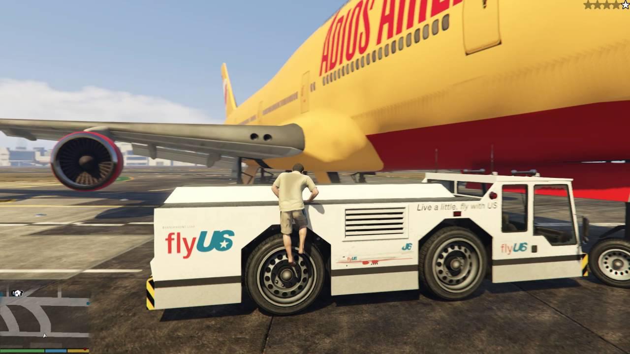 Khám phá thế giới GTA 5 #2 - Cướp máy bay siêu khủng