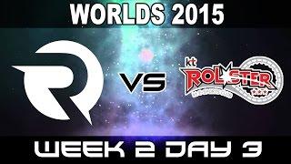 OG vs KT - 2015 World Championship Week 2 Day 3 - Origen vs KT Rolster