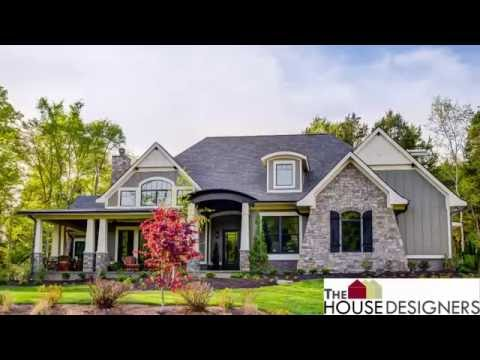 Tour of Craftsman Cottage House Plan | THD-4838