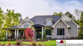 Tour Of Craftsman Cottage House Plan | Thd-4838