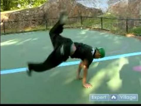 How To Breakdance : Air Swipes: Breakdancing