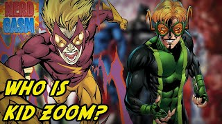 Who Is Kid Zoom? History of Inertia   Evil Clone of Bart Allen