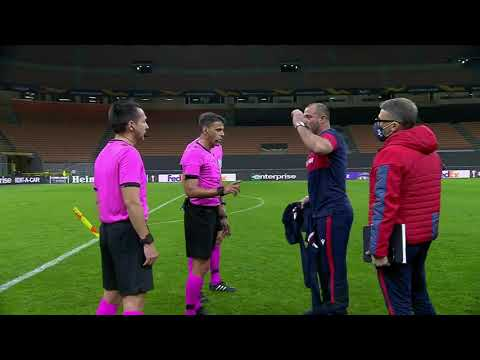 Wild Scenes as Crvena Zvezda SWARM Referee Post-Match, Complain About Final Whistle Being Blown - DAZN Canada