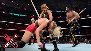 Baixar Becky Lynch and Seth Rollins go on a Kendo stick rampage: WWE Extreme Rules 2019