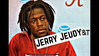 Alabama Crimson Tide Football: Jerry Jeudy speaks to media