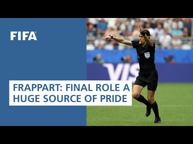 Frappart: Final role a huge source of pride