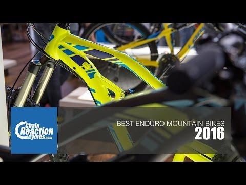 Best Enduro Mountain Bikes 2016 - Cube, Cannondale, Lapierre, Santa Cruz & more