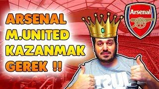 Fifa 19 Arsenal Kariyer // #23  Manchester United Maçı