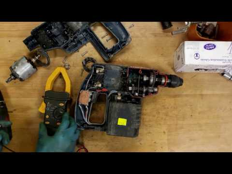 How To Dissasemble And Find Problem For Bosch 24V Cordless Rotary Hammer Drill
