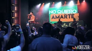 Justin Quiles - No Quiero Amarte (Deezer Next Live Session)