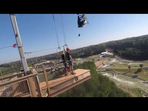 U.S. National Whitewater Center 100' Hawk Jump - Chase